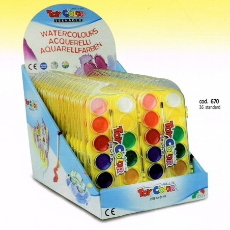 Gouache tube metal de 5 toy color